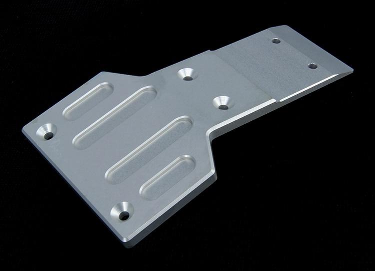 Kit de panneau de protection de plaque de protection de plaque de protection de cadre avant de 7mm en acier inoxydable HD pour HPI Baja 5B 5 T 5SC