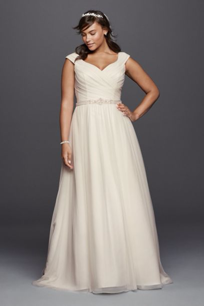 beaded wedding dress plus size 2017 sweep train cap sleeve bridal gowns under 100 boho wedding
