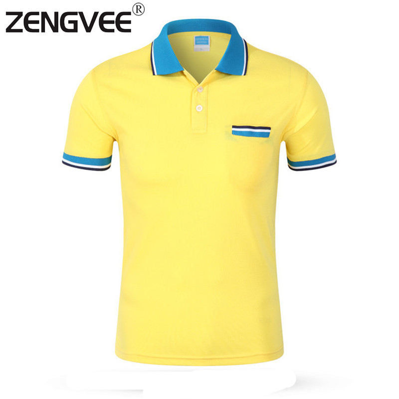 Mens polo shirt brands cotton short sleeve 2016 new top for Popular mens shirts brands