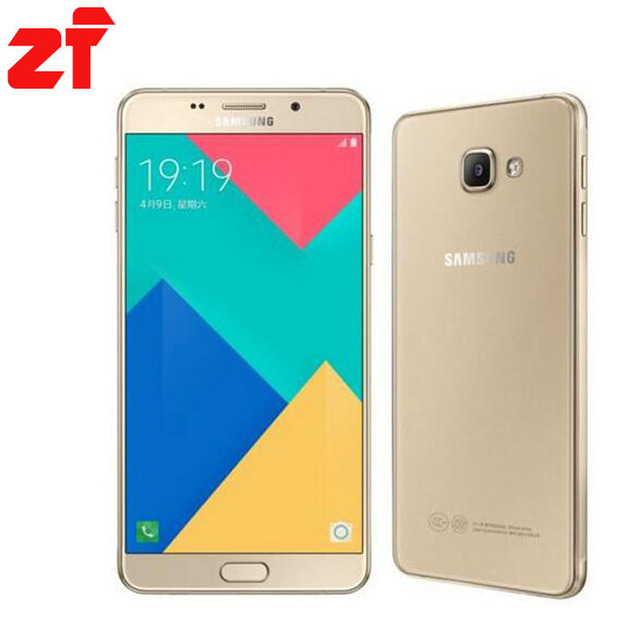 "Samsung Galaxy A9 Pro 2016 Duos Original Unlocked 4G LTE Dual Sim Mobile Phone 6.0"" 16MP A9100 Octa Core RAM 4GB ROM 32GB"