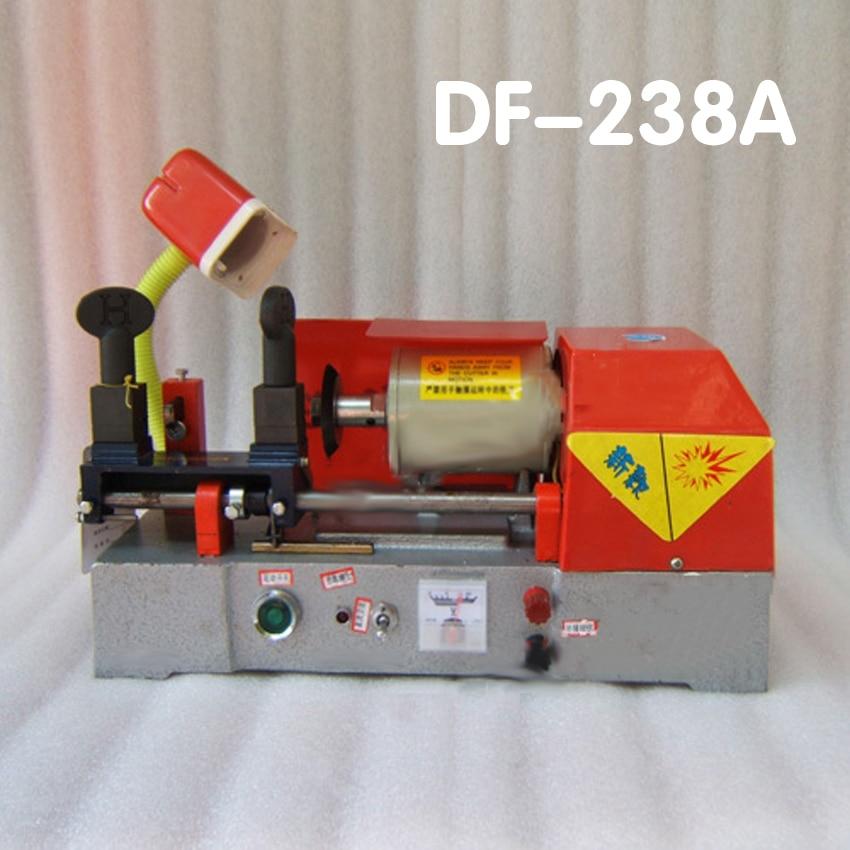 ФОТО 1PC DF-238A locksmith key machine locksmith tools car/door/house/factory key cutting machine with battery