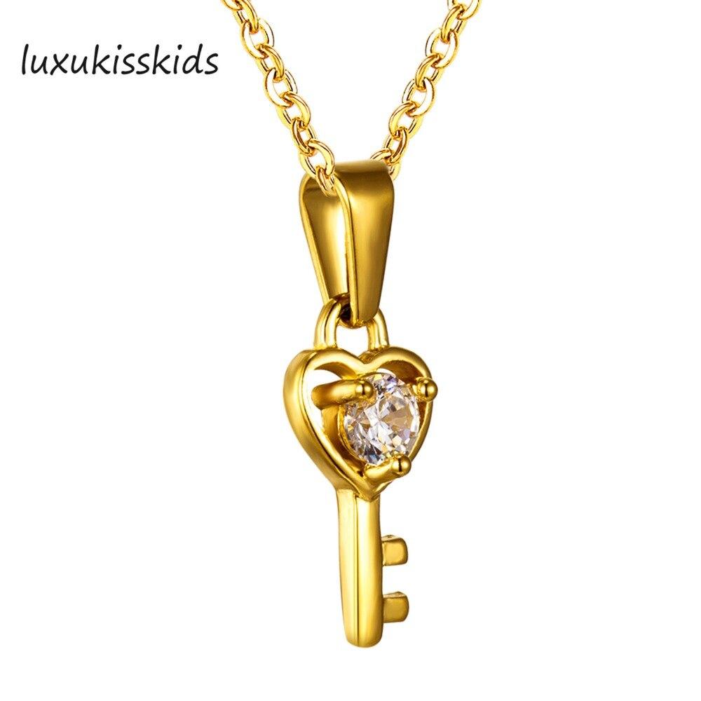 ( ^ ^)っLUXUKISSKIDS Прекрасный Красочные маленькая ключ ...