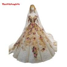 Backlakegirls Vintage Ball Gowns Wedding Dress Luxurious