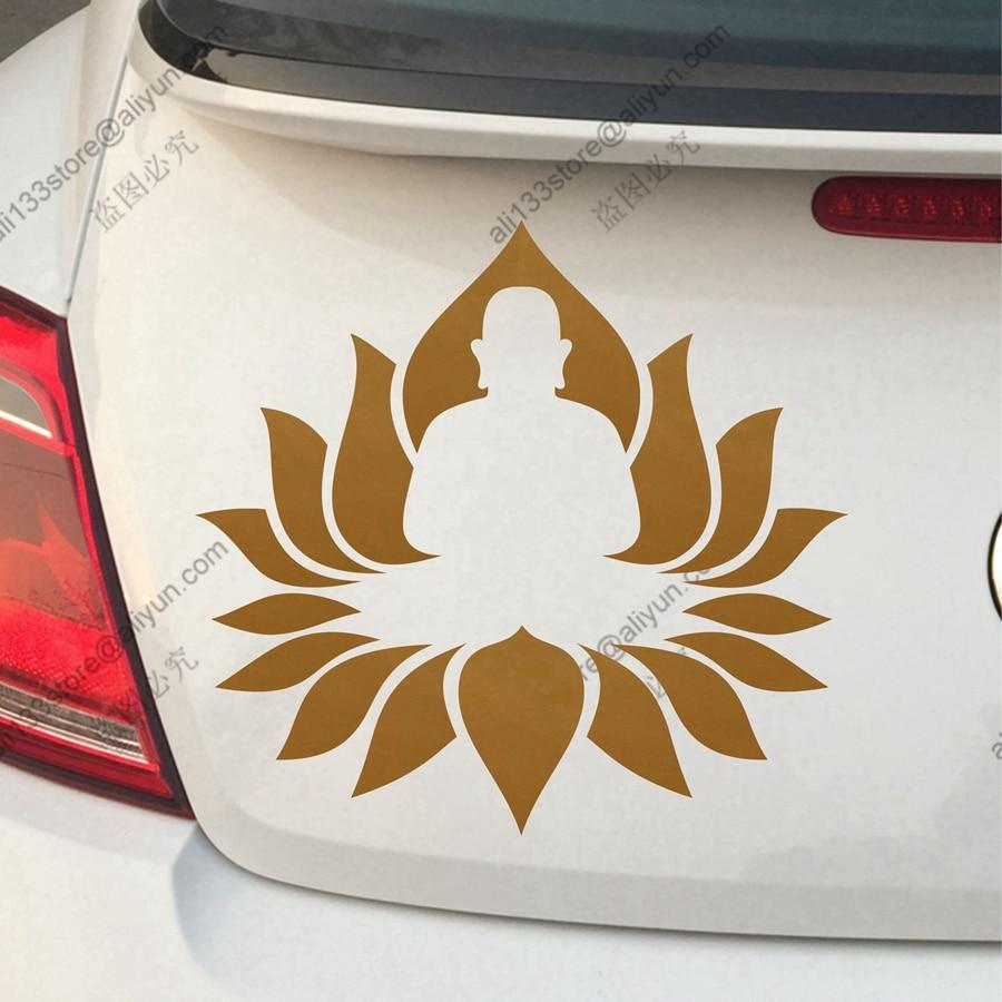 Us 19 Buddha Lotus Om Buddhismus Yoga Indien Auto Lkw Vinyl Aufkleber Aufkleber Gestanzte Keine Farbe Und Größe Wählen In Autoaufkleber Aus