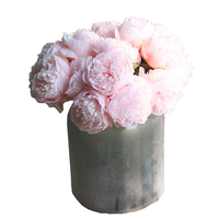 Artificial Silk Flowers Peony Bouquet Home Wedding Decoration Simulation 5 Heads Flower Bouquet Home Party Wedding