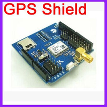 GPS Shield For Arduino With SD Card Slot And Antenna