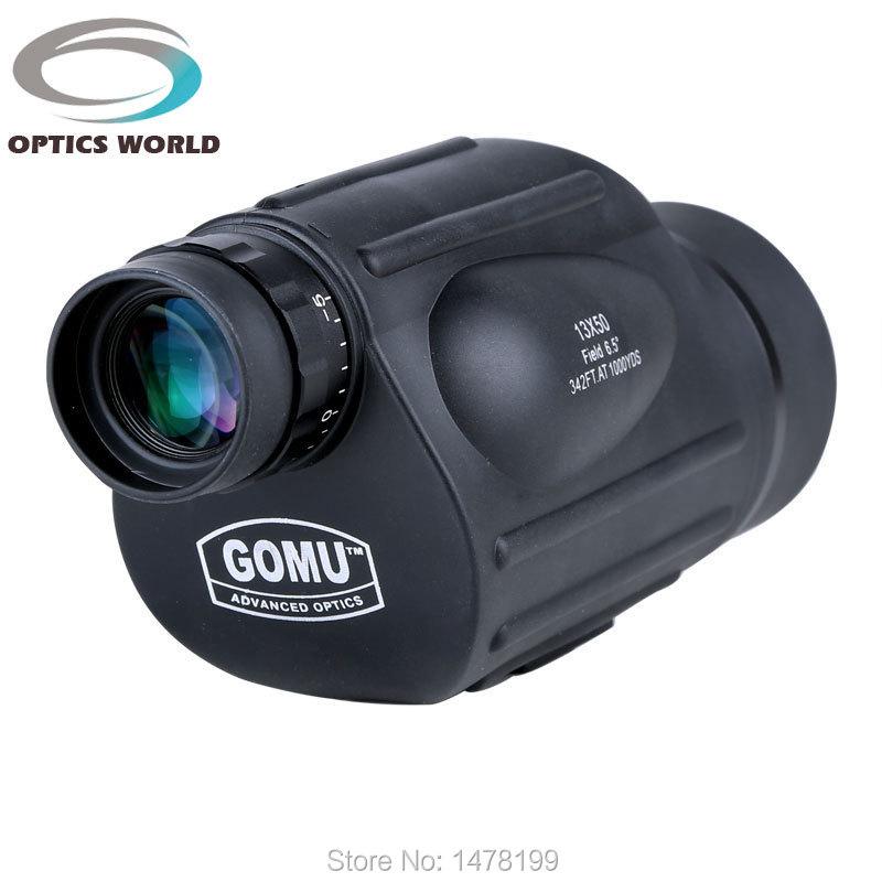 GOMU 13X50 monoculaire hoge kwaliteit HD 114 M / 1000 M FOV outdoor - Kamperen en wandelen