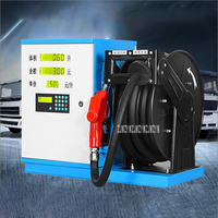 KWT 801 12V/24V Automatic Oil Pump Explosion Proof Automatic Refueling Machine Gasoline Tanker Automatic Oil Pumping Machine