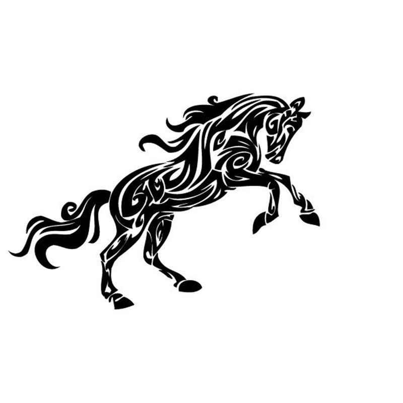 حجم كبير مجردة الحصان نمط ماء الفينيل الفن الحصان جدارية جدار صائق ملصقات الحائط الديكور الشحن مجانا