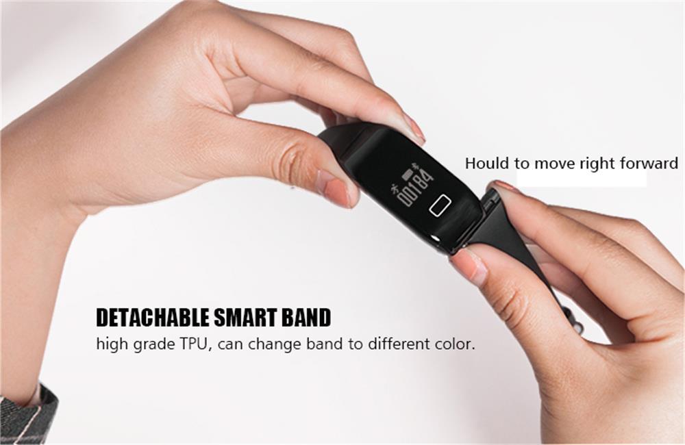 MOCRUX Smart Wristband Bracelet H3 Smartband IP68 Waterproof Heart Rate Monitor FitnessActivity Tracker Smart Watch Call Alarm  (11)