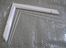 113 مللي متر * 86 مللي متر * 2.0 مللي متر ل 5.6 بوصة L شكل شاشات كريستال بلورية الخلفية أنبوب ccfl مصباح