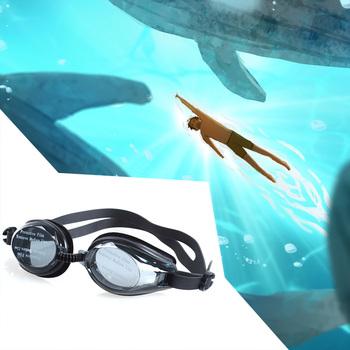 Mężczyźni kobiety okulary pływackie przeciwmgielne okulary pływackie anty-ultrafioletowe profesjonalne regulowane wodoodporne okulary pływackie tanie i dobre opinie Chłopcy Niebieski Z tworzywa sztucznego Silikonowe Swimming Glasses