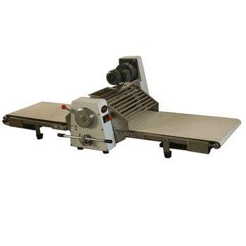 Laminadora de masa de acero inoxidable, mesa plegable, máquina de pastelería, laminadora, grosor de rodillo ajustable más delgado a 1 Mm