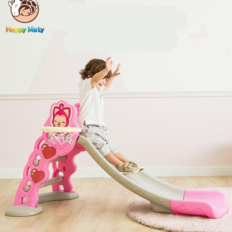Infantile Brillant Bébé Jouet Musique Diapositive Allongé Épaississement Enfants Chambre jouer Jeu Jouets Peut être Plié Intérieur Enfants Parc pour 1-6Y