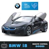 Rastar BMW RC Car 1:14 1:18 i8 Remote Control Toys Radio Control Car Machines Model Electric Car Toys Boys Birthday Gifts Kids