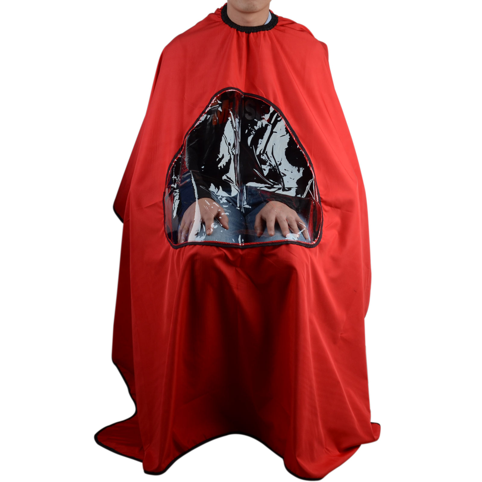 3color Hair Cutting Gown High Quality Cape With Viewing Window Hairdresser A For Salon Barber In Caps Foils Wraps From Beauty Health