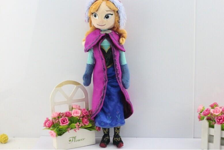 Princess Elsa plush Anna Plush Doll Toy Toys Brinquedos Kids Dolls for Girls  2