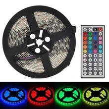 SMD 5050 listwy RGB LED światła 5 M 300 LED od DC 12 V RGBW listwa LED RGBWW elastyczne światło paski paski Neon monochromatyczny L