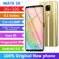 Cheap CHAOAI 2GB+32GB Smartphone Android Mate20 Pro 6.1'' Full Screen Cellphones 8 Core Face Unlock Dual Sim 3g Mobile Phone