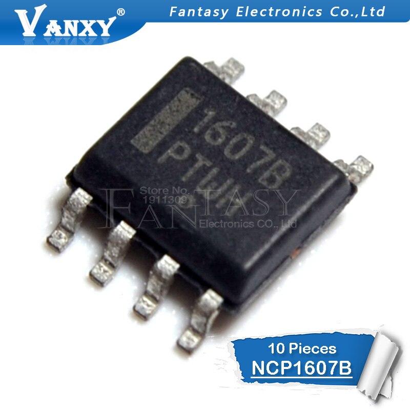 10pcs NCP1607B SOP-8 NCP1607 SOP 1607B SOP8 NCP1607BDR2G New Original