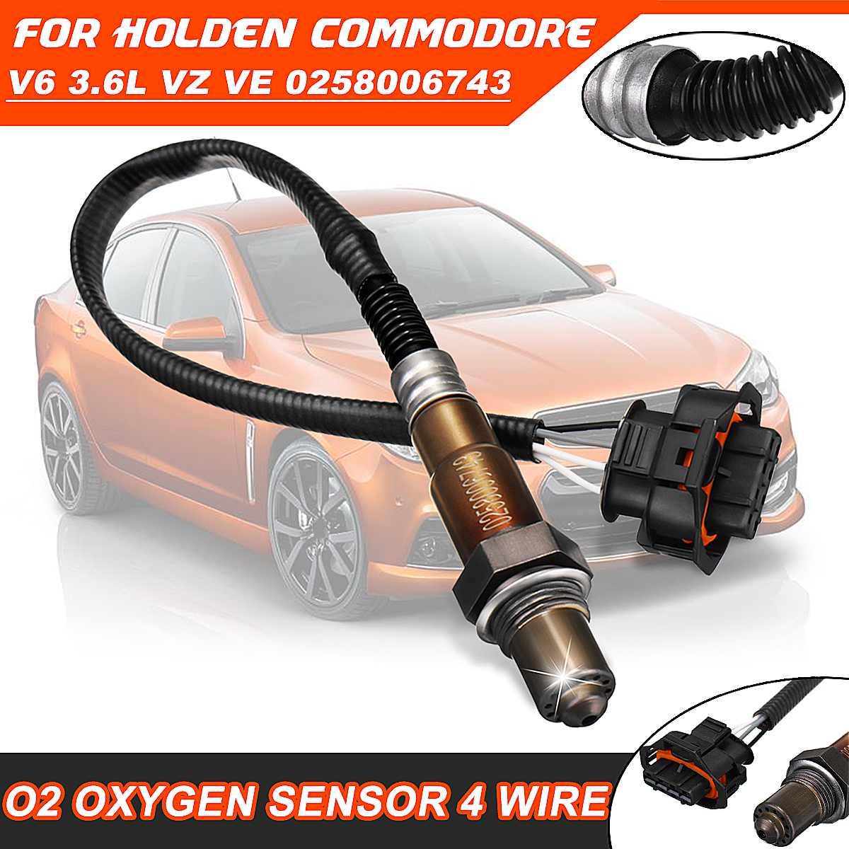 #02580067434 Wire O2 Oxygen Sensor For Holden Commodore VZ LE0 2004-2005 LY7 2005-2007 LW2 2007-2008 V6 3.6L VZ VE