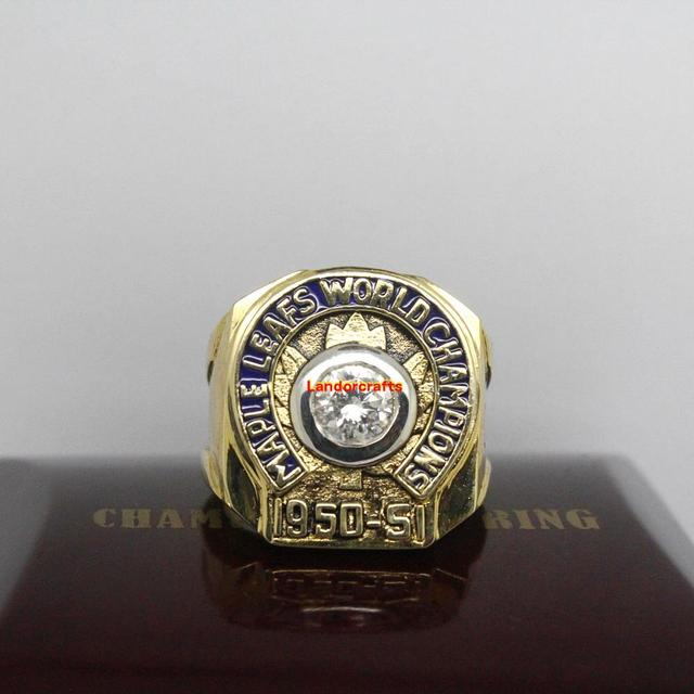 1951 Toronto Maple Leafs NHL Ice Hockey Stanley Cup Championship Rings