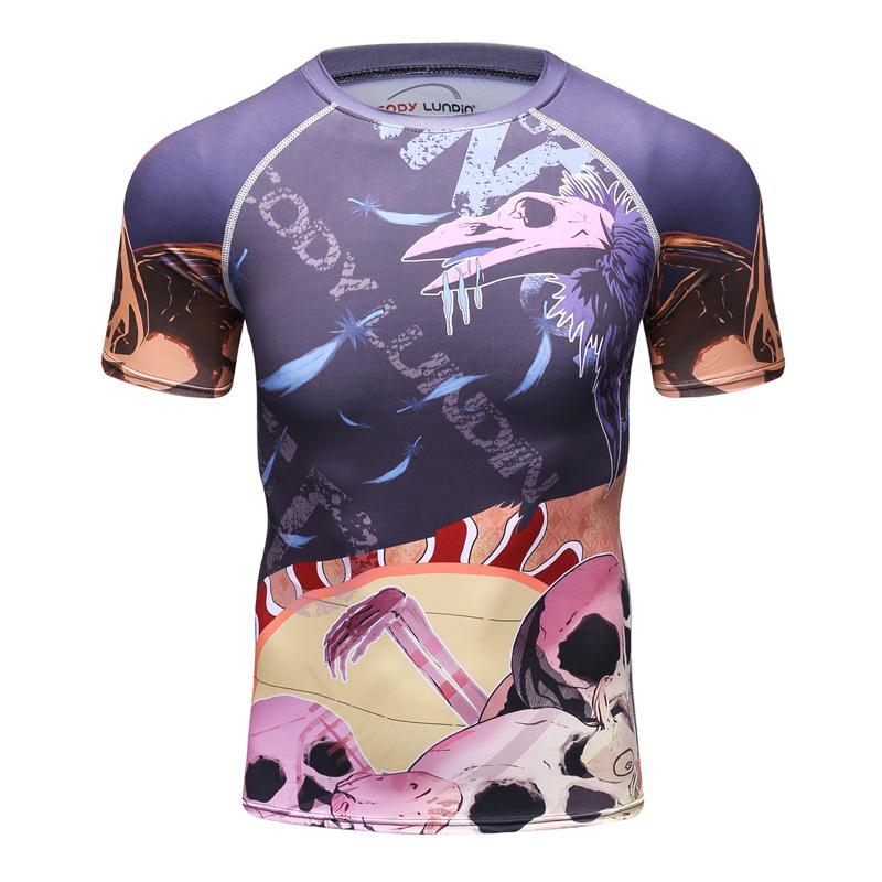 ac417f581 2018 New Skulls 3D Printed T shirt Men Camiseta Masculina MMA Funny ...