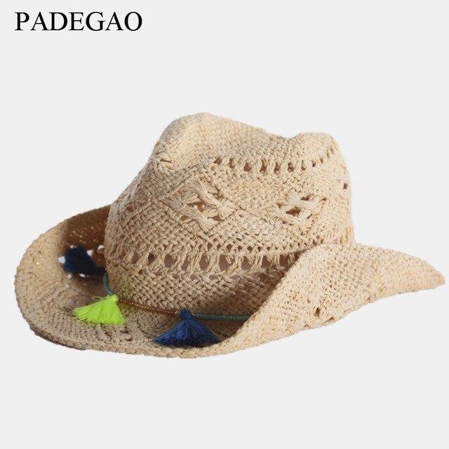 Hot! crianças de verão chapéu de palha feitos à mão Menino e menina  protetor solar 86b18f40dc