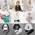 Halloween Two-piece Set Baby Boy Girl 2PC Suit Tracksuit Long Sleeve Shirt Top+Pant 1st Birthday Outfits Mamas New Born Clothes