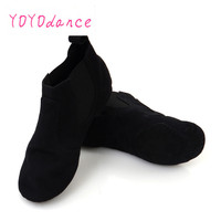 New Jazz Dance Shoes For Adults Comfortable Elastic Dancing Shoes For Women Canvas Jazz Dance Shoes