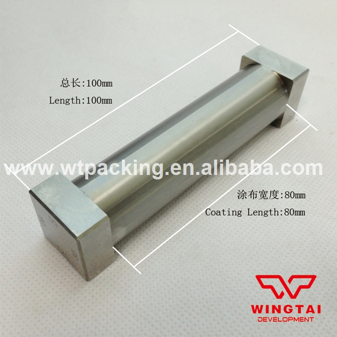 Effective Width of coating 80 mm Total Length 100 mm Four Side Wet Film Applicator Stainless Steel (30um,60um,90um,120um) stainless steel material aaron wire bar effective coating width 200mm scraping ink bar