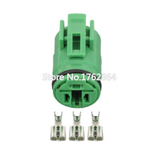3 Pin Automotive Connectors Round Waterproof With Terminal Plug DJ70318-6.3-21 3P