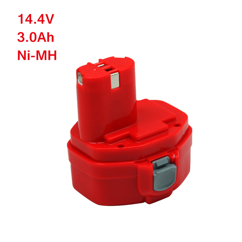 Wilderness  14.4V Ni-MH 3Ah battery Replacement Power Tool for Makita 1420 1422 1400 PA14 192600-1 194172-2 193062-6 VoltWilderness  14.4V Ni-MH 3Ah battery Replacement Power Tool for Makita 1420 1422 1400 PA14 192600-1 194172-2 193062-6 Volt