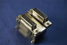 100 stücke Dual Port 24 Pin DVI-D Dual Link Steckerbuchse 24 Position Durch Loch Rechtwinklig PCB 2 DVI digitale Anschlüsse(China)