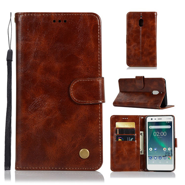the best attitude 16c97 6432d US $4.73 5% OFF|For Nokia 2 2018 Case Nokia 2.1 Case PU Leather Phone Case  For Nokia 2.1 2018 TA 1080 TA 1084 TA 1092 TA 1093 TA 1086 Flip Cover-in ...