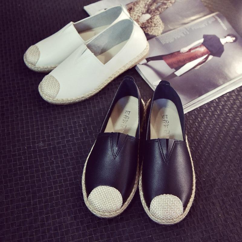Blogger de moda Recomendar Costura Hecha A Mano Negro Blanco Sólido Llano Patrón Abrigo De Lona
