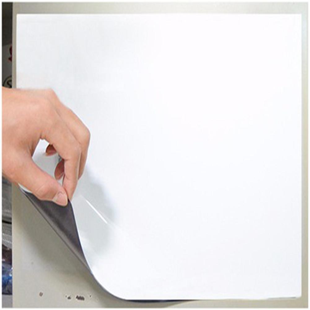 Flexible Fridge Magnets Whiteboard Waterproof Kids Drawing Message Board Magnetic Refrigerator Memo Pad R20