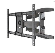 TV Wall Mount NB P6 40-70 Flat Panel LED LCD Full Motion 6 Swing Arms Monitor Holder Frame