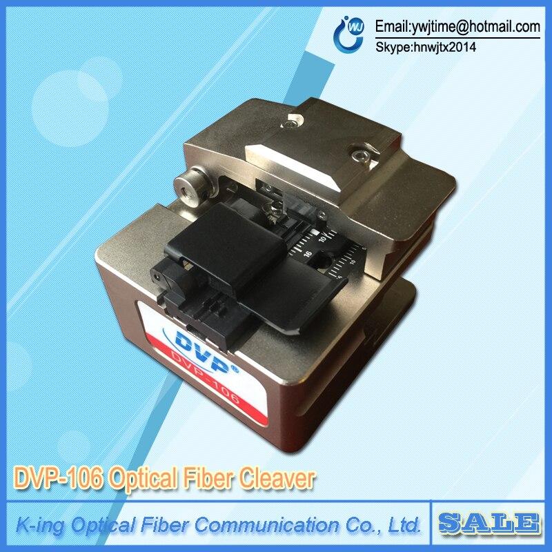 Livraison Gratuite DVP106 Haute Précision Fiber Optique Cutter DVP-106 Optique Fendoir De Fiber pour le Soudage Fusion Colleuse Machine
