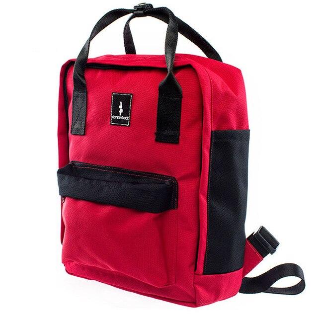 ed88cbd96b Waterproof Canvas Travel Backpack Trendy Leisure Daypack Hiking Rucksack  School Backpack Sport Bags