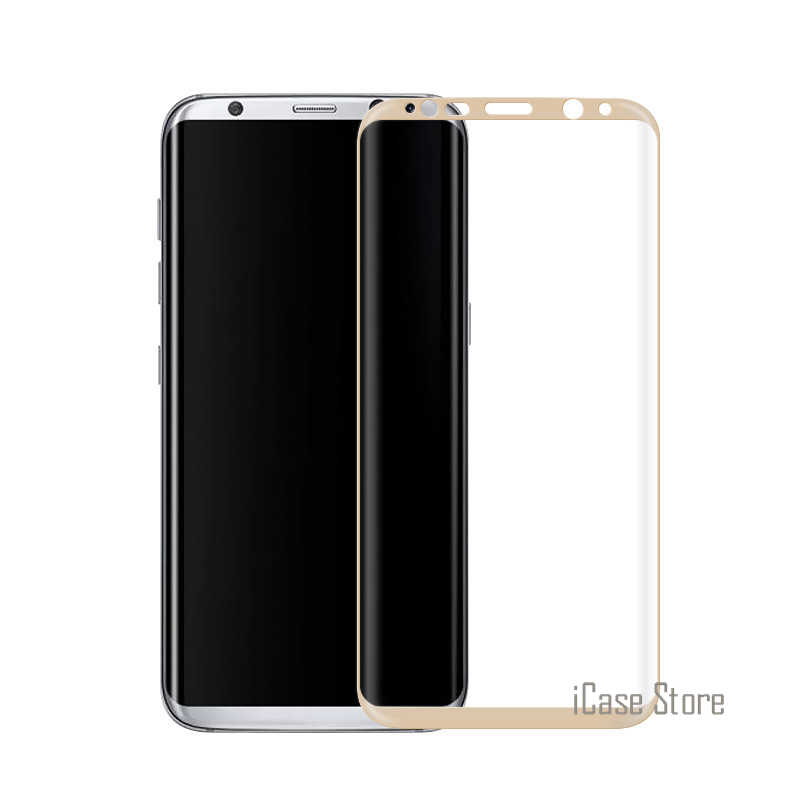 S8 + folia ochronna na ekran 3D zakrzywione na pełnym ekranie pokrycie szkło hartowane dla Samsung Galaxy S8 pakiet Plus pianki pudełko