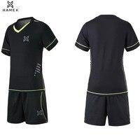 2017 New Kids Football Kits Boys Soccer Sets Jerseys Uniforms Futbol Training Suits Breathable Polyester Short