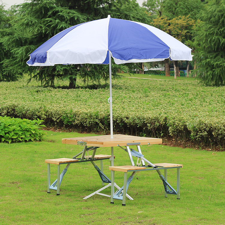 Outdoor Furniture Folding Table Sets Portable Wood Tables And Chairs Folding  Picnic Set Outdoor Travel Camping Table New In Garden Sets From Furniture  On ...
