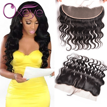13*4 Ear To Ear Lace Closure With Baby Hair 7A Grade Brazilian Body Wave Lace Frontal Closure 8-22 Inch Lace Frontal Body Wave