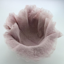ФОТО new arrival! handcraft wool felted round blanket(diameter:50cm)newborn photography props baby basket stuffer