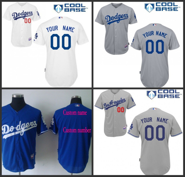 cheap custom dodgers jersey