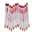 12 Цветов Блеск Eye Liner Pencil Set Pro Длительный природные Помада Карандаш Для Губ Руководство Ручка Партии Женщин Косметическая комплект
