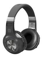 H Wireless Bluetooth 4 1 Stereo Headphones With Mic Micro SD Card Slot FM Radio Black