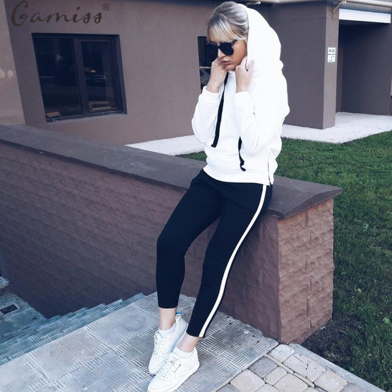 Gamiss Plus size Women Hoodies Casual Sweatshirt Pullover 4 Colors Autumn Women's Cowl Neck Pullovers Hoodie Sweatshirts Tops