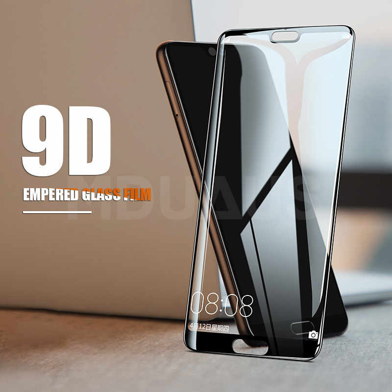 9D Tempered Glass For Huawei P20 Pro P10 Lite Plus Screen Protector Film For Huawei P9 Lite Plus P Smart 2019 Protective Glass